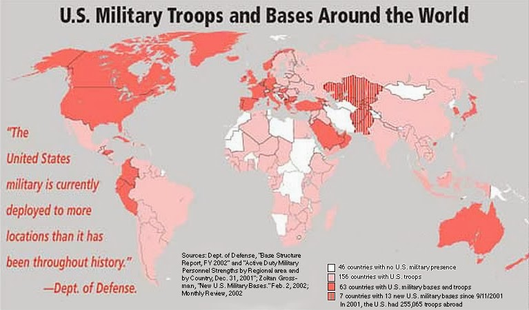 A Little Reality Biggest Threat To World Peace - Largest military in the world