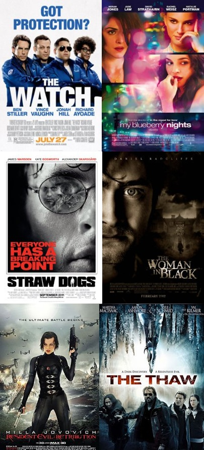 September films / películas de setiembre