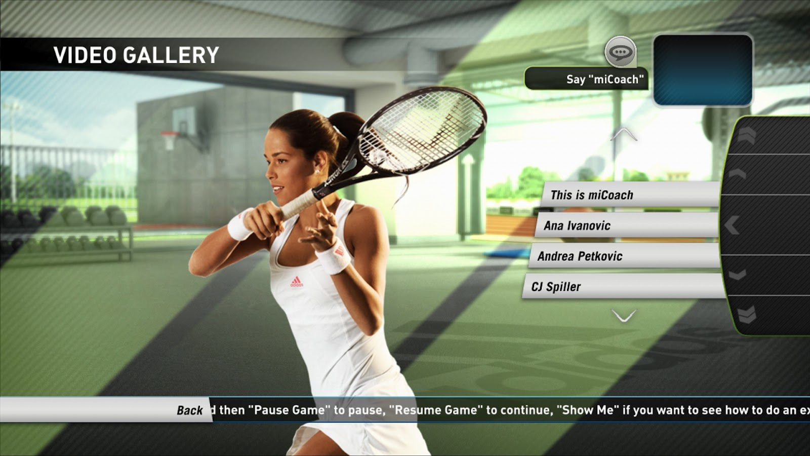 Adidas Micoach Is Aplete Sports Training System On Kinect For Xbox 360  And Move For Playstation 3 Designed To Take Performance To The Next Level,