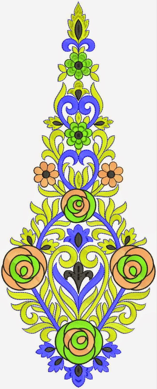 pagri stikwerk blomme werk appliekwerk ontwerp