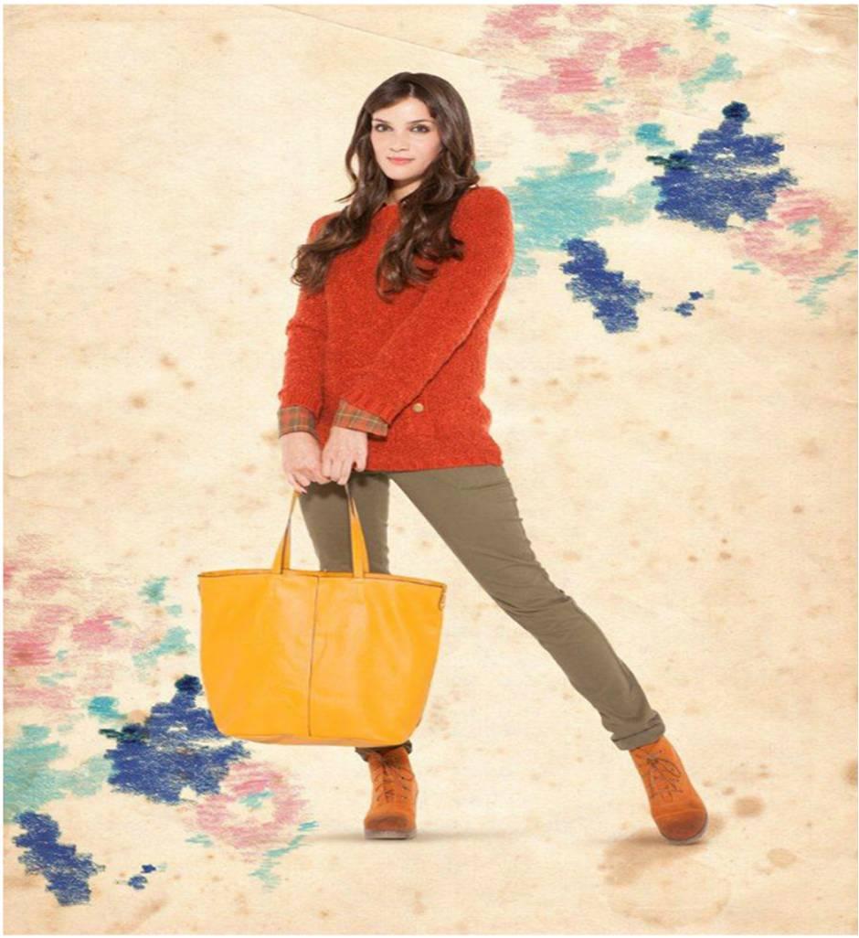 Moda directa aqp vistiendo de naranja - Como conseguir color naranja ...