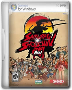 dvd312 Samurai Shodown Sen    PC Game