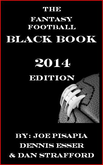 NEW FANTASY FOOTBALL BLACK BOOK 2014 EDITION