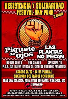 Resistencia y Solidaridad Festival Ska Punk