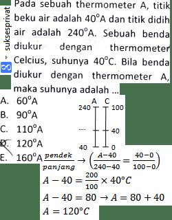 Ubah Suhu Celsius ke Suhu Lain X