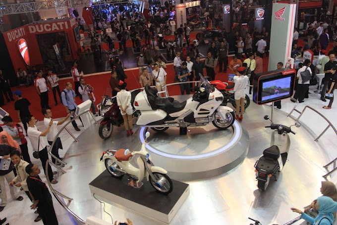Booth Astra Honda Motor Dinobatkan Sebagai yang Paling Disukai