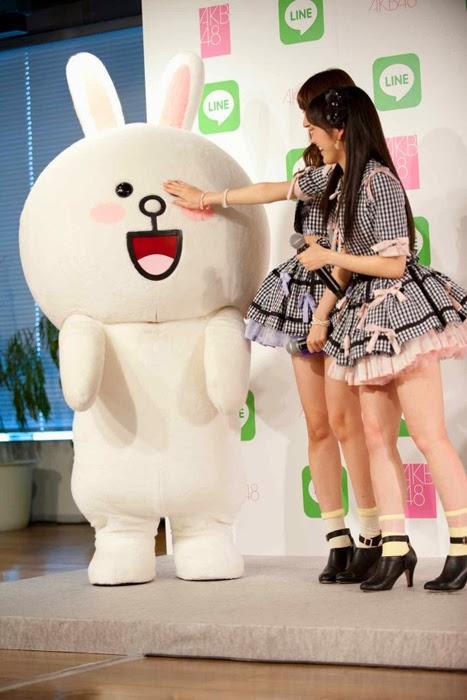 Las primeras 16 integrantes de la Elección Senbatsu de AKB48 tendrán sus stickers en LINE 02