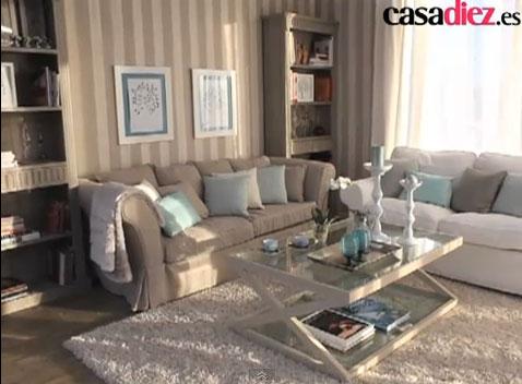 Como decorar paredes en la sala salon living diseno de interiores - Decorar paredes salon ...
