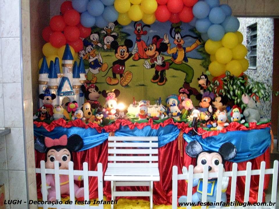Tema Disney para decoração de festa infantil