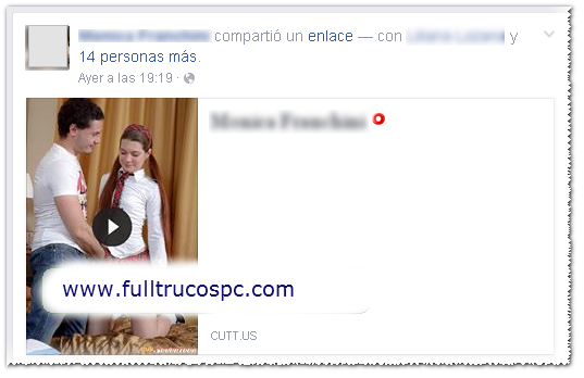 Virus que publica videos obscenos a mi nombre en Facebook ?