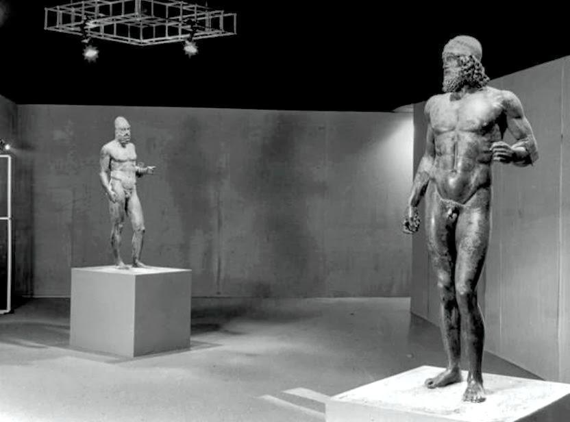 Riace Bronzes back home in Reggio Calabria Museum