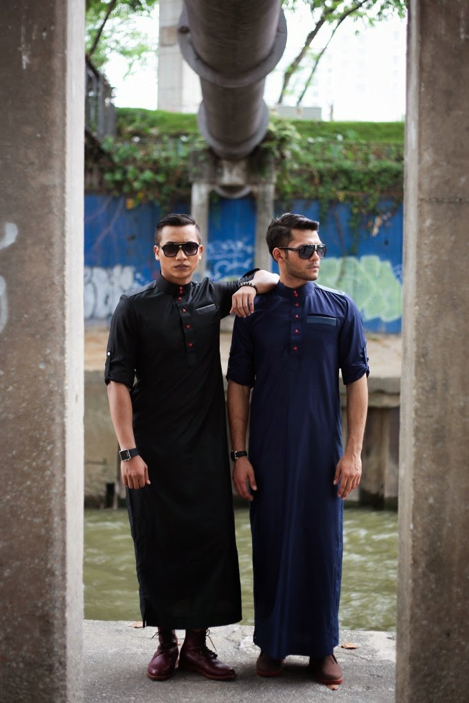 jubah hipster