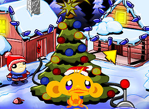 Monkey Go Happy Xmas Tree