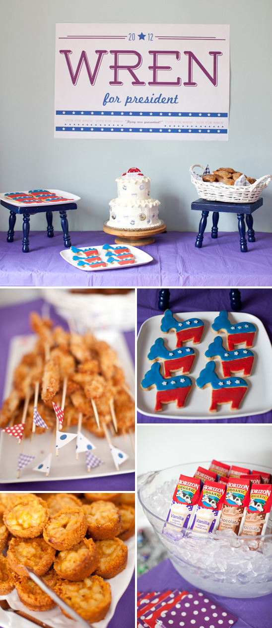 election 1st birthday party