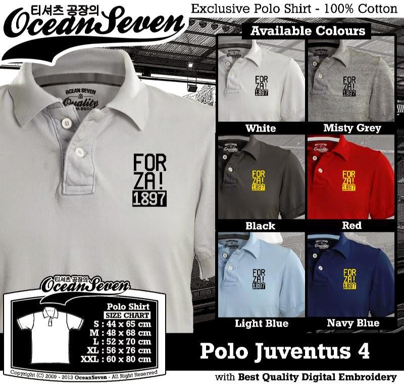 Kaos Polo Juventus 4