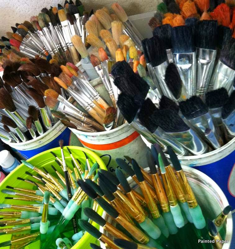 Various Paint Brushes