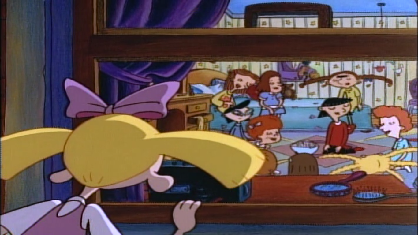 hey arnold reviewed s1 e4 helga 39 s makeover the
