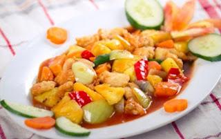 Resep Ayam Koloke Spesial Saus Asam Manis