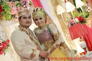 Pernikahan bahagia Enggar dengan Rozi