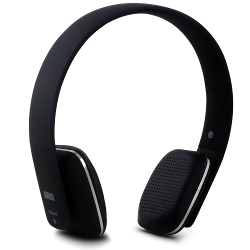 August EP636 Bluetooth Wireless Stereo NFC Headphones - Comfortable On-ear Headset with built-in Microphone and Rechargeable Battery - Compatible with Mobile Phones, iPhone, iPad, Laptops, Tablets, Smartphones