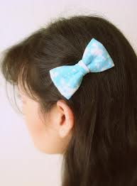 diy, hair, bow, bleach