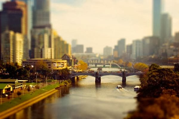 Tilt-shift Photography by Ben Thomas