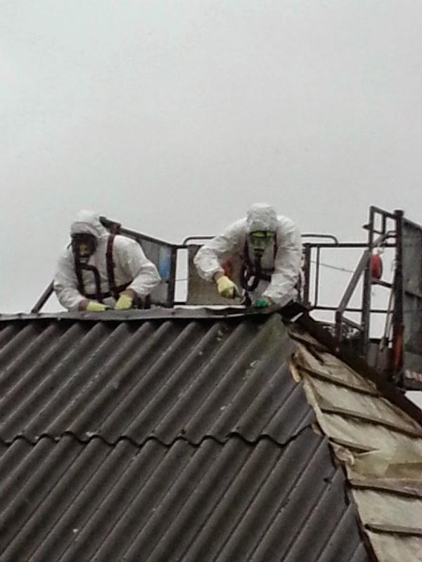 asbest verwijderen dak