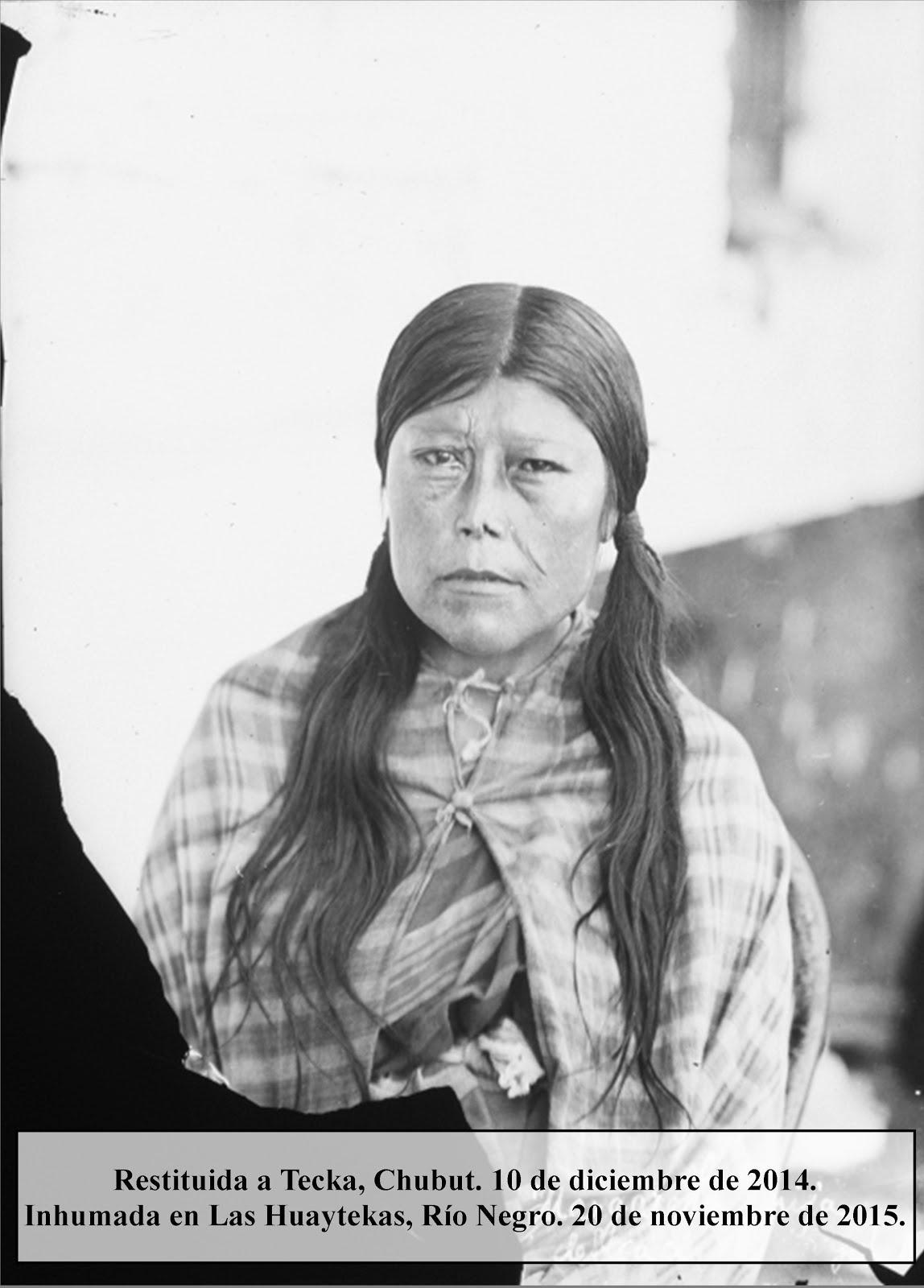Margarita Foyel, Hija del Lonkgo Foyel.