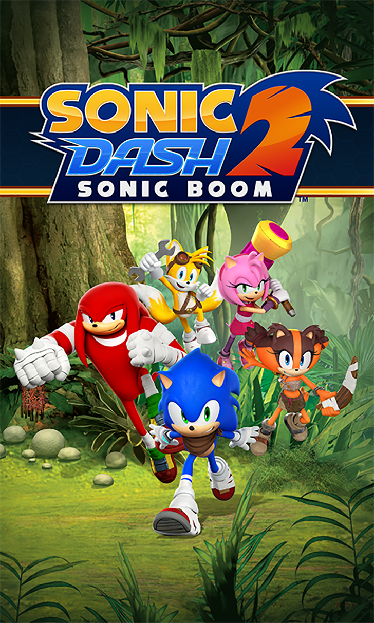 Sonic Dash 2: Sonic Boom Free App Game By SEGA