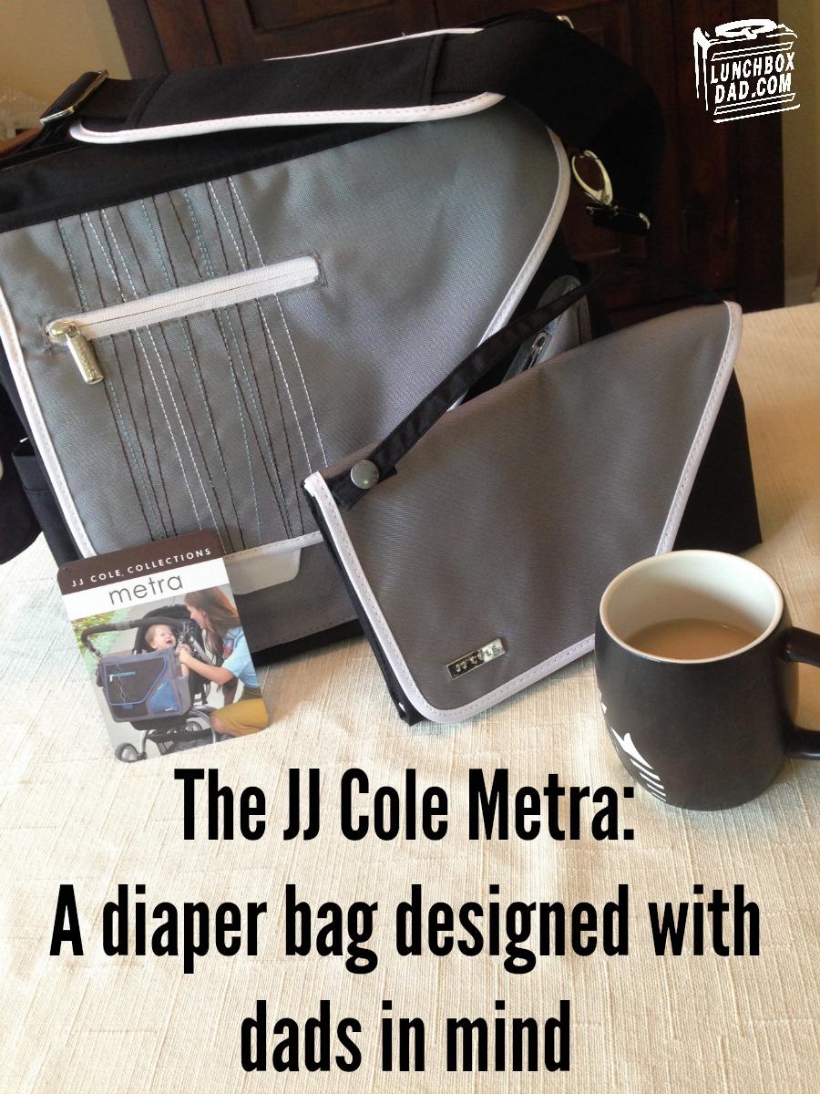 JJ Cole Metra Diaper Bag Review