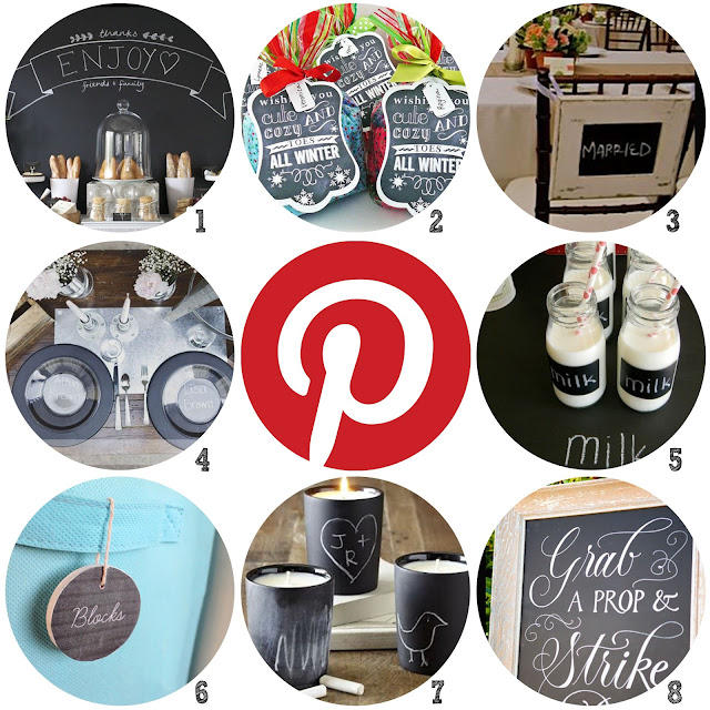 chalkboard inspirational Pinterest boards created by Lorrie Everitt and Creative Bag