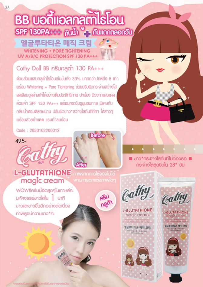 Cathy Doll L-Glutathione Magic Cream - KFshop®¨°∙ ♥° A