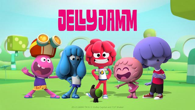 Imagen de la serie de dibujos animados Jelly Jamm