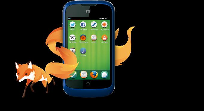El primer Smartphone con Firefox OS
