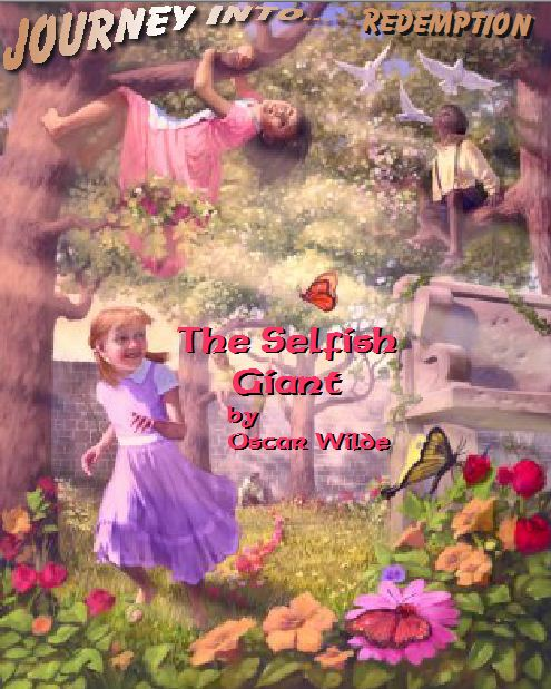 """the symbolism in the character of the giant in the selfish giant by oscar wilde The selfish giant is a beautiful story oscar wilde wrote for children but the child in any grown person is apt to embrace it even more dearly the selfish giant would not let the children play in his beautiful garden """"my garden is my own garden,"""" he roared and the children fled."""
