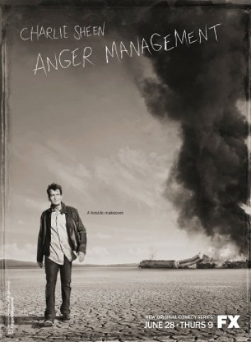 Serie Poster Anger Management S01E01 & S01E02 HDTV XviD & RMVB Legendado
