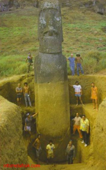 "Misteri ""Pulau Paskah"" Ratusan Patung Raksasa Saksi Bisu Peperangan Internecine"