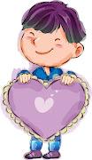 Dibujos de niños San Valentin ♥ (niã±os )