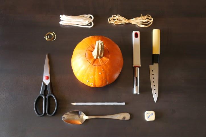 Estas son las herramientas que necesitamos para las CALABAZAS de HALLOWEEN