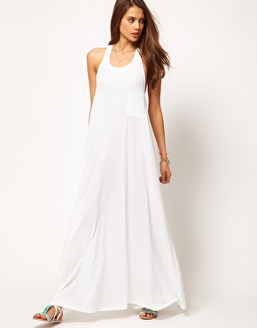 White Long Dress on Long White Maxi Dress With Triple Strap Back   Rubias Collection
