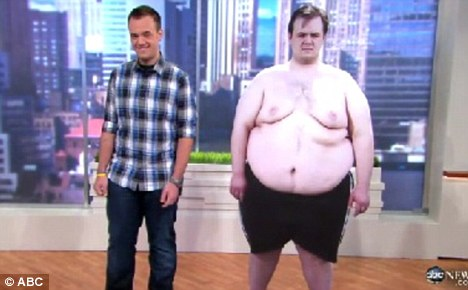'It was my mom's dying wish': Man, 23, loses almost half 459lbs body weight in just a YEAR