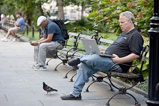 Wi-fi em locais públicos