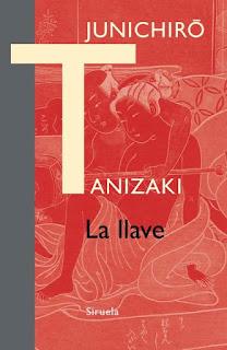 """Portada libro novela book """"La llave"""" Junichiro Tanizaki mujer y hombre desnudos grabado japones japanese iron naked japanese woman Junichiro Tanizaki"""
