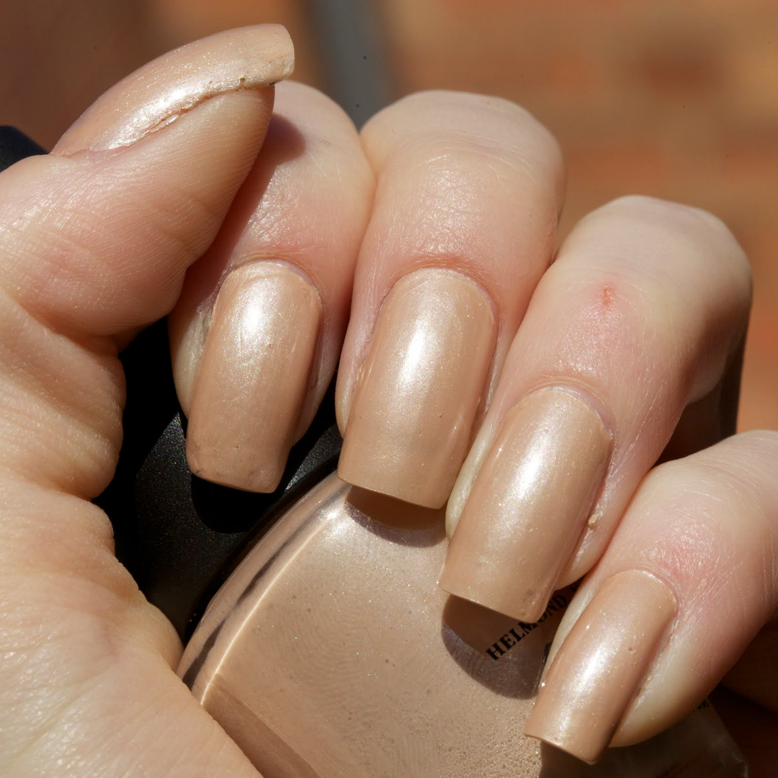 Mannequin hands: OPI Sand in my Suit ~ Addicted to Polish