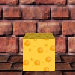 Screenshots of the Cheese maze 3D for java mobile, phone.