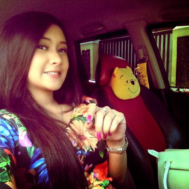 Foto selfie Artis Dangdut Cita-citata