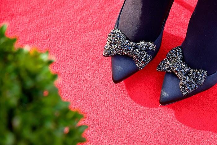 scarpe con fiocco