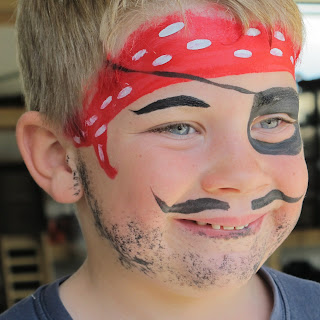 Easy Pirate Face Painting Ideas