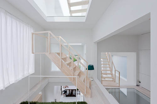 House H stairs