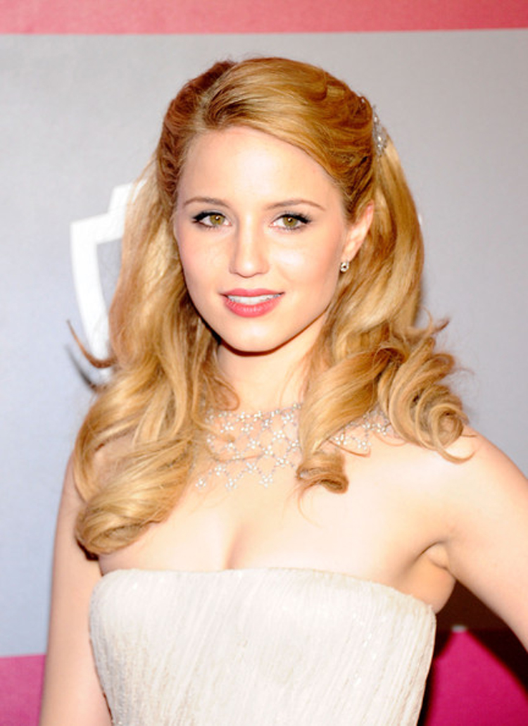 Fresh Look Celebrity Dianna Agron Hairstyles 49